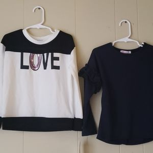 Girl lightweight sweaters